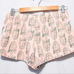 Women's Star Wars R2D2 Pajama Shorts Size XS NWT